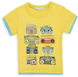 Little Marc Jacobs Baby Boy's Radio Cotton Tee