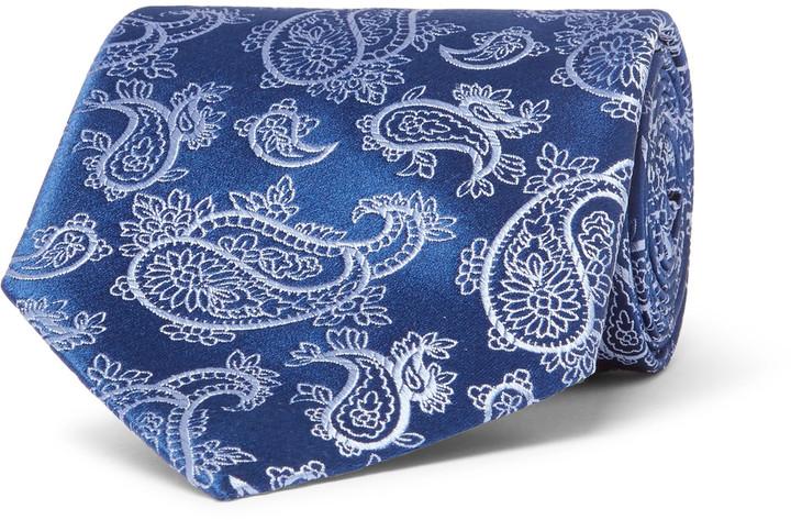 CharvetCharvet 8.7cm Paisley Silk-Jacquard Tie
