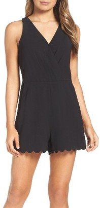 Women's Adelyn Rae Serena Romper $82 thestylecure.com