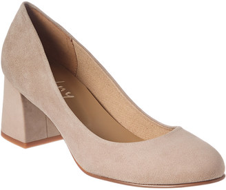 French Sole Tour Suede Pump