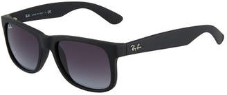 Ray-Ban Flat-Top Square Plastic Sunglasses