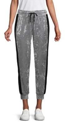 Metallic Jogger Pants