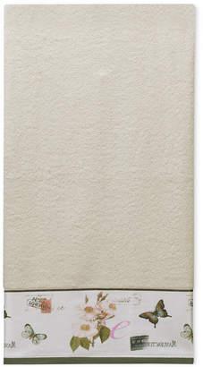 Creative Bath Botanical Diary Cotton Border-Print Bath Towel Bedding