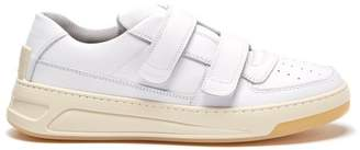 Acne Studios - Steffey Low Top Leather Trainers - Womens - White