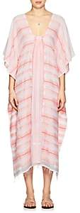 Lemlem Women's Tereza Striped Cotton Caftan - Light, Pastel pink