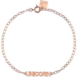 ginette_ny Fairy Unicorn Bracelet - Rose Gold