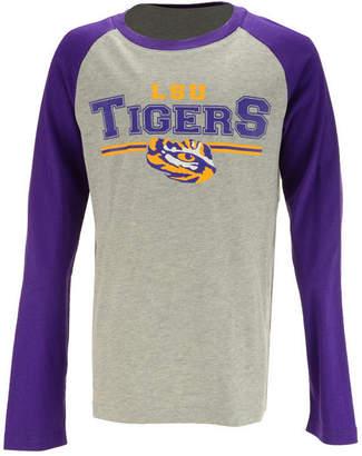 Outerstuff Lsu Tigers Field Line Long Sleeve T-Shirt, Big Boys (8-20)