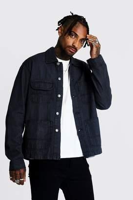 boohoo 4 Pocket Denim Jacket