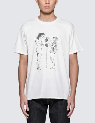 Fragment Design X Moro TadashiAdam And Eve T-Shirt