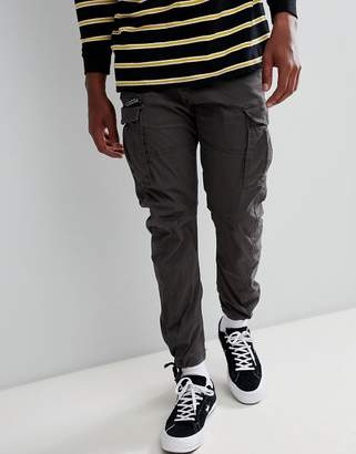 Jack and Jones cargo PANTS in slim fit with drawstring ankle