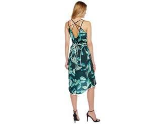 Adelyn Rae Havana Woven Printed Slip Dress Women's Dress