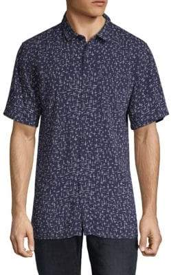 Zanerobe Cross Short-Sleeve Shirt