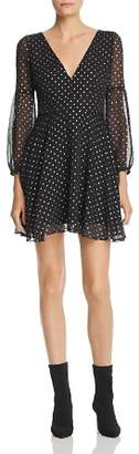 BB Dakota Star Foil Print Dress