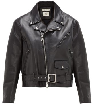 b45bc8106 Black Biker Jacket - ShopStyle UK