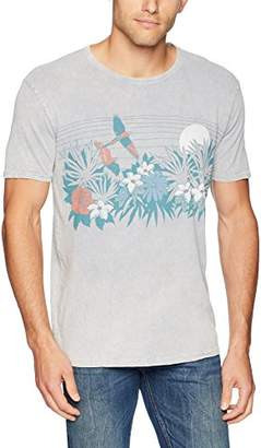 Lucky Brand Men's Tropical Floral Graphic TEE
