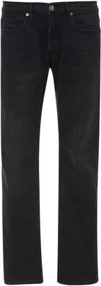 Frame L'Homme Mid-Rise Slim-Leg Jeans