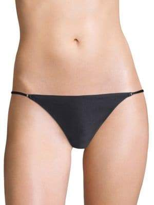 Fleur Du Mal Luxe Cheeky Bikini Bottom