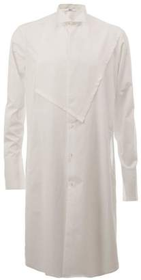 Aganovich chest patch long shirt