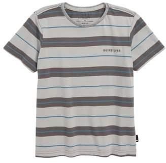 Quiksilver Dera Steps Stripe T-Shirt
