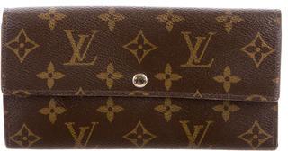 Louis VuittonLouis Vuitton Monogram Sarah Wallet