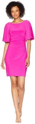 Lauren Ralph Lauren 1T Matte Jersey Jessup 3/4 Sleeve Day Dress Women's Dress
