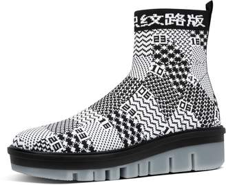 FitFlop Swatchbook High-Top Sock Sneakers