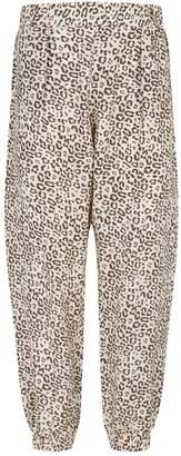 ATM Anthony Thomas Melillo Silk Lunar Leopard Sweatpants