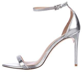 Rachel Zoe Metallic Ankle Strap Sandals