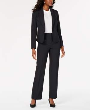 Le Suit Shawl-Collar Pantsuit