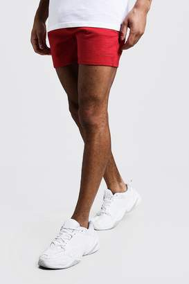 boohoo MAN Signature Short Length Jersey Shorts