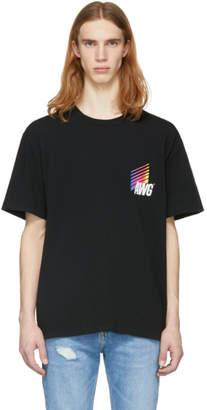 Alexander Wang Black AWG Corporate T-Shirt