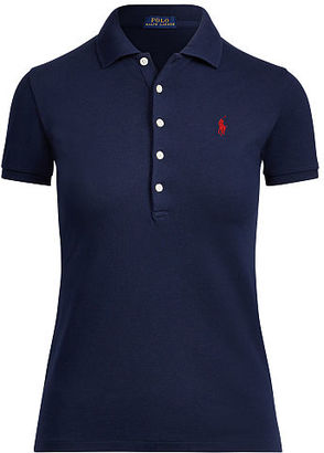 Polo Ralph Lauren Skinny Fit Stretch Mesh Polo $89.50 thestylecure.com