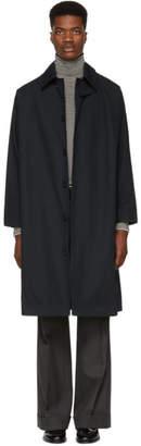 Studio Nicholson Navy Match Raincoat