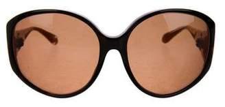 Kieselstein-Cord Tortoiseshell Two Lips Sunglasses