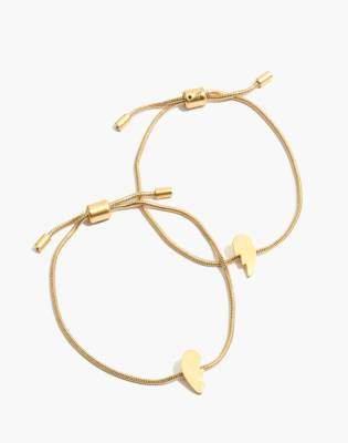 Madewell Friendship Chain Bracelet Set