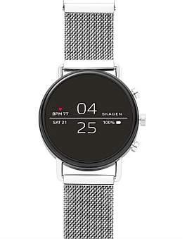 Skagen Falster Silver-Tone Smartwatch