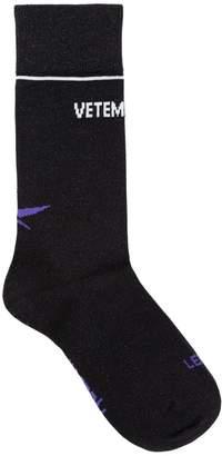 Vetements Reebok Lurex Short Socks