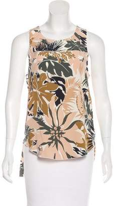 Rag & Bone Printed Sleeveless Top
