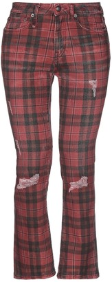 R 13 Denim pants - Item 42733588AT