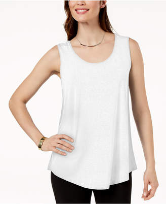 JM Collection Petite Scoop-Neck Tank Top