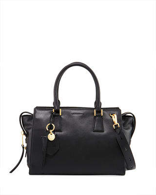 Cole Haan Marli Leather Square Satchel Bag