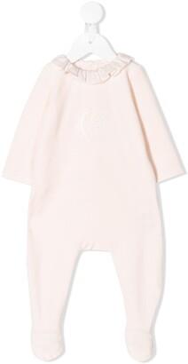 Chloé Kids frilled onesie