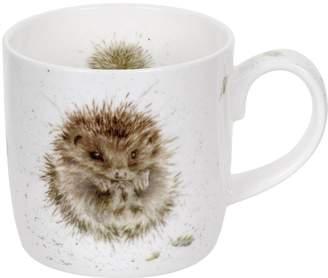Portmeirion Wrendale Awakening Mug (hedgehog) By Royal Worcester - Single Mug