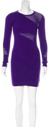 Versace Knit Bodycon Dress