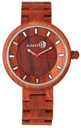 Earth Wood Branch Wood Bracelet Watch Red 45Mm