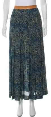 Sophie Theallet Silk Printed Skirt w/ Tags