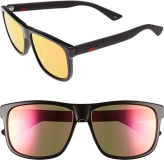 Gucci 58mm Sunglasses