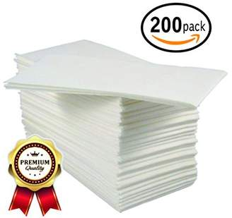 BloominGoods Linen-Feel Guest Towels   Disposable Cloth-Like Tissue Paper   Soft and Absorbent Hand Napkins For Kitchen