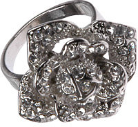Forever 21 Jeweled Flower Ring