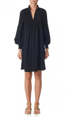 Edwardian Silk Short Dress $895 thestylecure.com